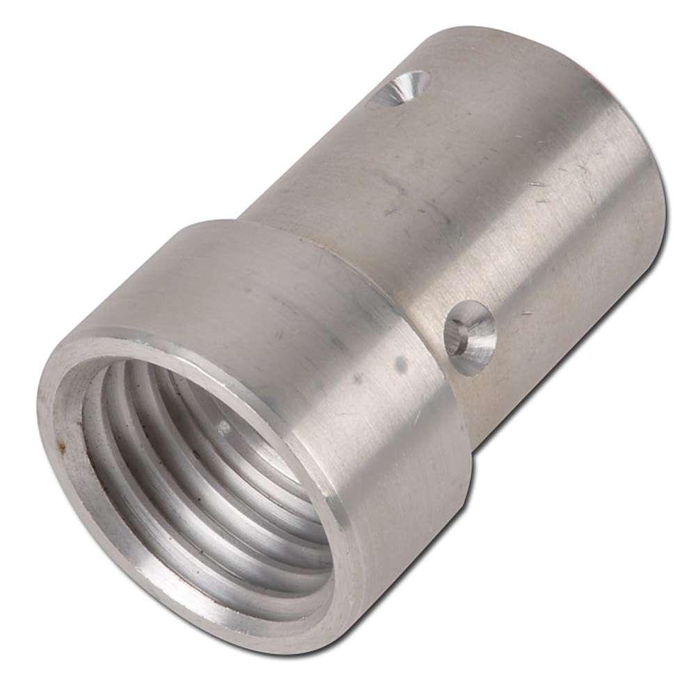 Munstyckshållare - aluminium - för slang-Ø 25 eller 32 mm