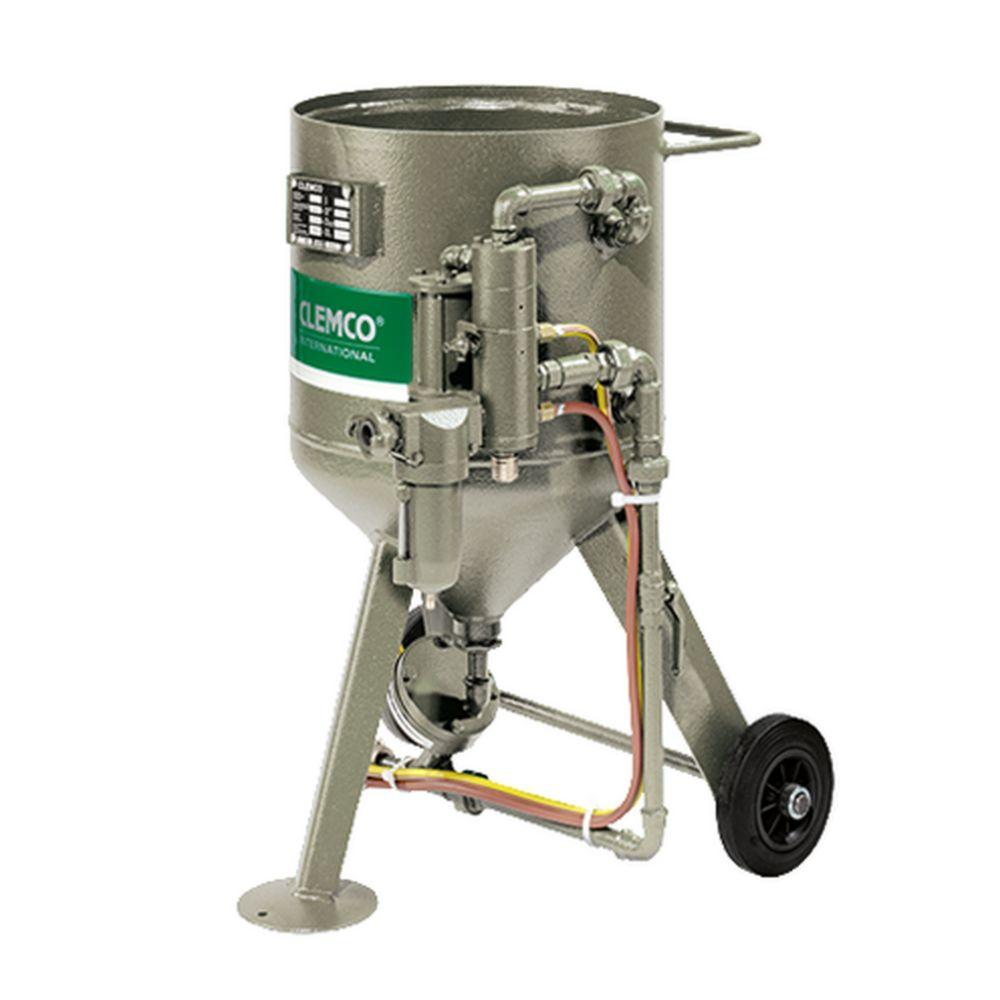 Druckstrahlkessel SCW - max. 200 l Inhalt - ½ oder 1¼ Zoll Verrohrung - für alle gängigen Strahlmittel