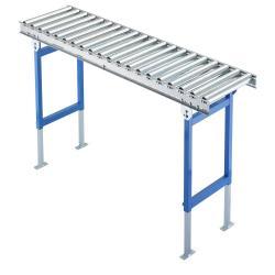 Leicht Rollenbahn - Stahltragrollen - Traglast bis 40 kg - Rollen-Ø 50 mm