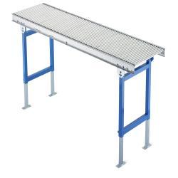 Klein Rollenbahn - Stahltragrollen - Ausführung Geradstück -  Rollen-Ø 20 oder 30 mm - Traglast bis 15 kg