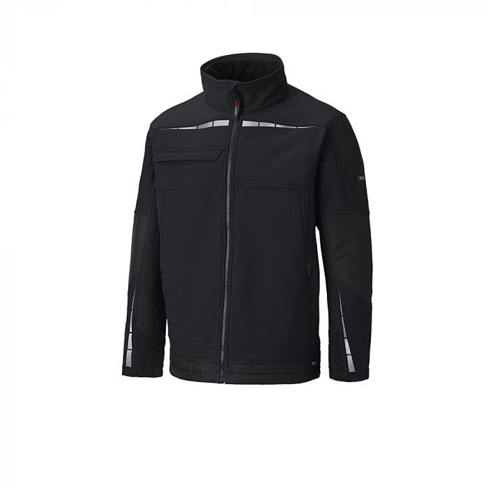 Softshell jacka Pro - Dickies - storlekar S till XXXL - svart