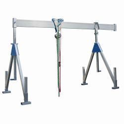 """Aluminium-Schnellbau-Portalkran """"PLANETA"""" - Tragfähigkeit bis 1,5 t"""