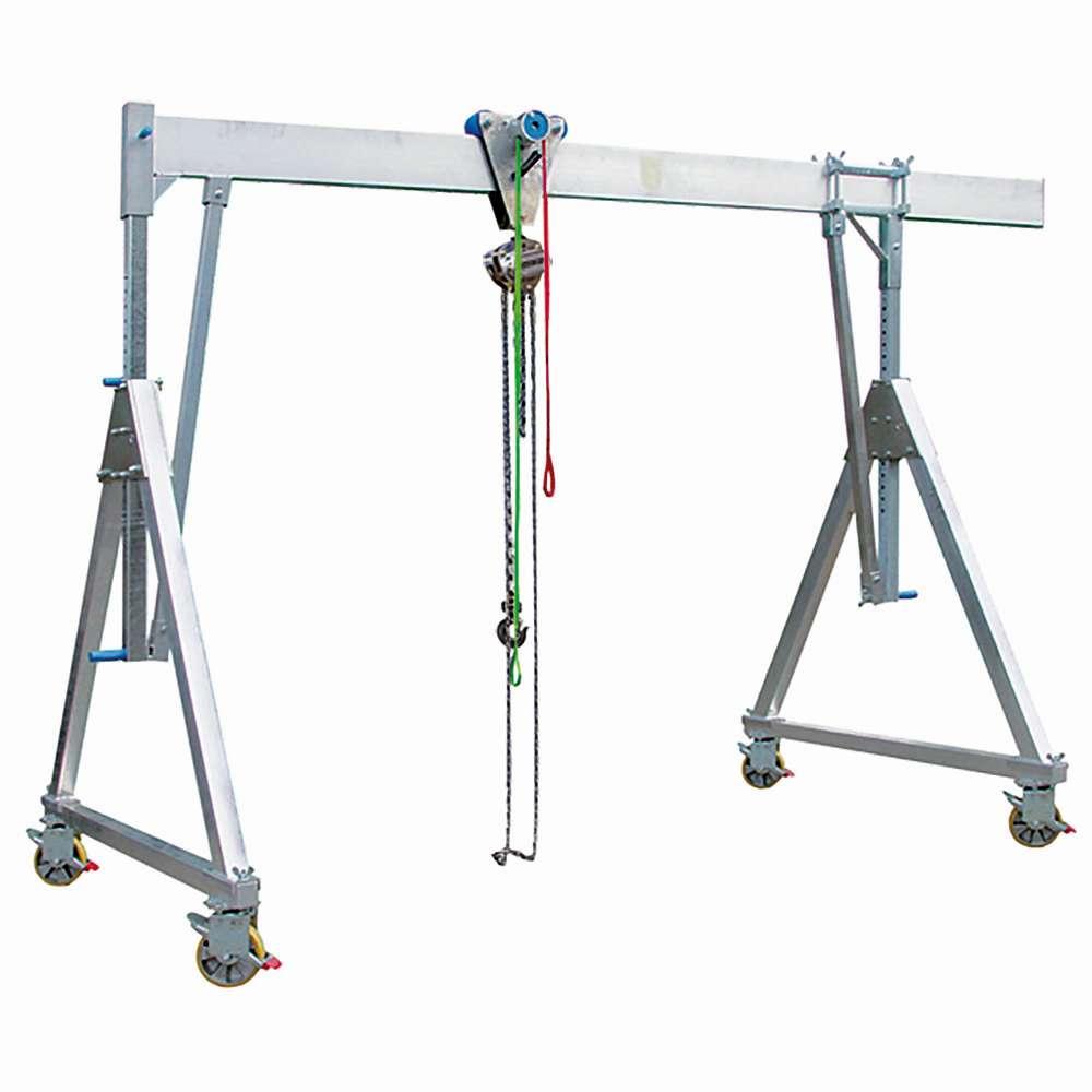 """Portalkran """"PLANETA"""" - aluminium - kapacitet till 1500 kg"""