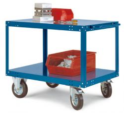 "Table Trolley ""Transo"" - Lifting 500kg - Height Up To 850mm - Handle"