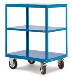 "Mobile Shelving ""Transo"" - 3 Shelves  - Lifting 500kg - Height Up To 1295 mm"