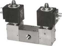 Magnetimpulsventil - 3/2- och 5/2-vägs - rostfritt stål