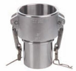 """Camlokkoppling - rostfritt stål -  typ CC - G 3/4"""" till 4"""" - DIN 2828"""
