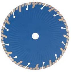 Diamanttrennscheibe Granit - Premium-plus Segmenthöhe 8 mm für Winkelschleifer -