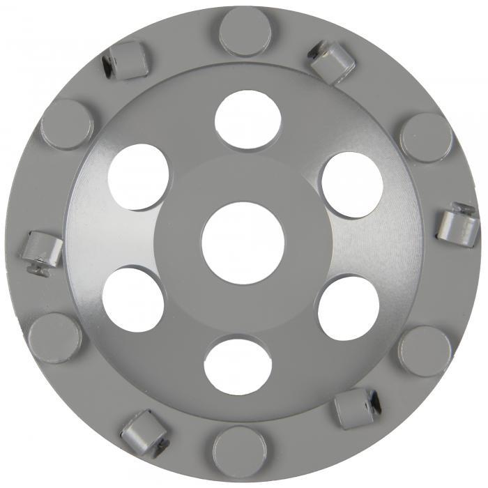 Diamantschleifteller DS 650 PKD Supra - Durchmesser 125 bis 180 mm - Schleiftellerhöhe 21,6 oder 20 mm - Segmentbreite 13 mm - Bohrung 22,23 mm
