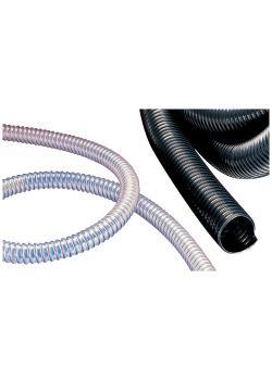 AIRDUC® PUR 355 HT - Hochtemperaturschlauch - schwer - Innen-Ø 32 bis 100-102 mm - 10 und 15 m - Preis per Rolle