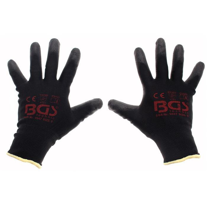 Mechaniker-Handschuhe - Größe 8/M, 9/L, 10/XL, 11/XLL