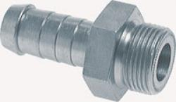 Flachdichtende Gewindenippel für LKW-Kompressoren