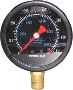 Hydraulikmanometer - Ø 63-100mm - al campo di misura 690bar - con riempimento di glicerina