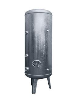 Réservoir à air comprimé en acier inox  - jusque 6 bar - debout - de 100 l. à  1