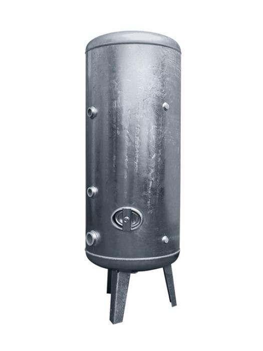 Edelstahl-Druckbehälter - bis 6 bar - stehend - 100 Liter bis 10000 Liter