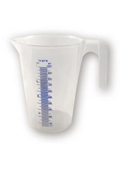 Plastic measuring cup 5 liters - with scaling