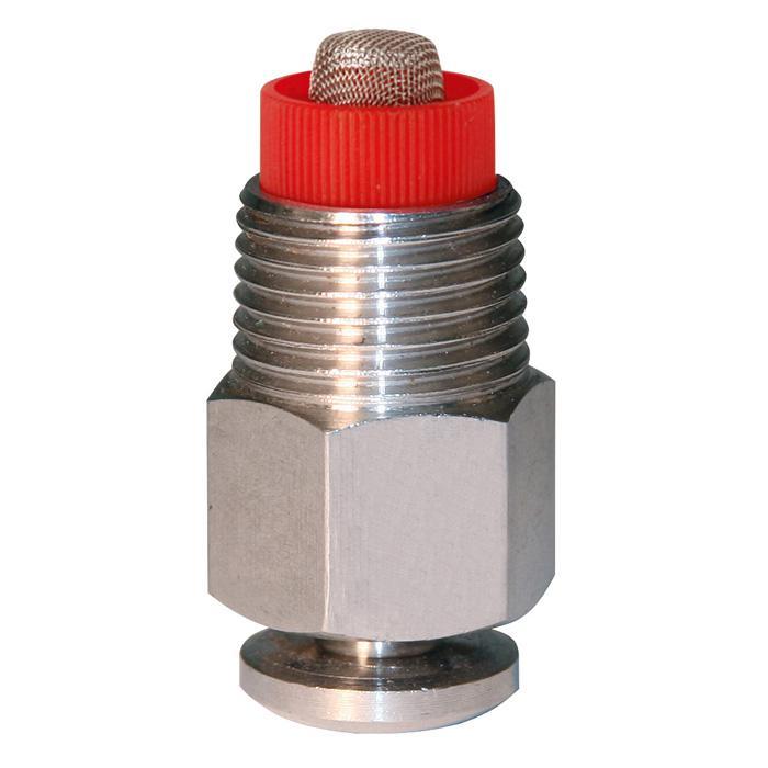 """Sprejnippel - Ø-gänga 1/2 """"- tryckkotte 17 till 18 mm - längd 37 till 46 mm"""