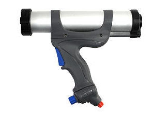 """applicazione con pistola silicone """"PC Cox Airflow 3"""" - custodia di alluminio"""