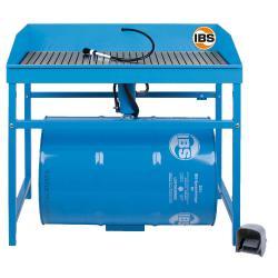 IBS-Teilereinigungsgerät Typ M - Tragfähigkeit max. 200 kg - 200 l Fass