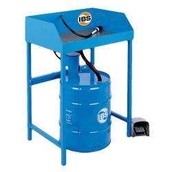 IBS-Teilereinigungsgerät Typ BK 50 - 50 l Fass - Tragfähigkeit 50 kg