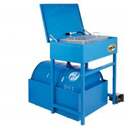 IBS-Teilereinigungsgerät Typ L - Tragfähigkeit 60 kg - 200 l Fass