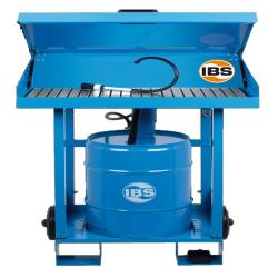 IBS-Teilereinigungsgerät Typ F2D - Tragfähigkeit 100 kg - 50 l Fass