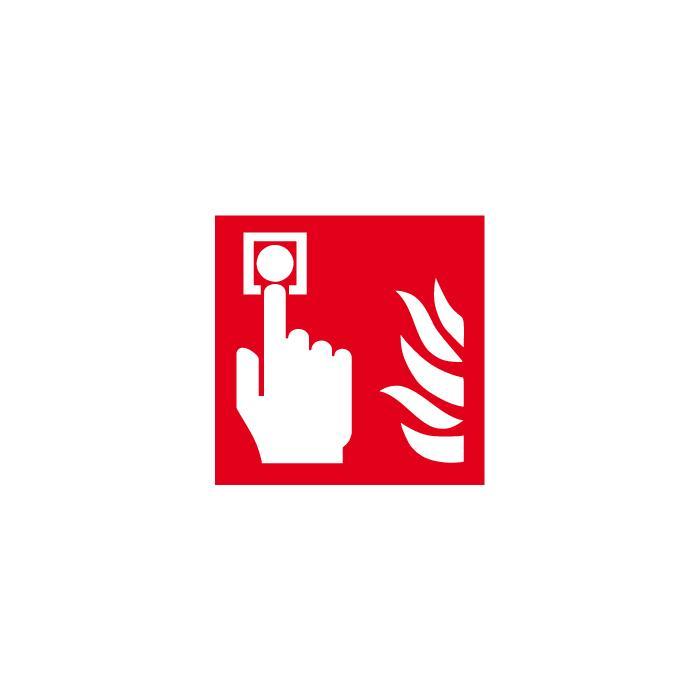 """Brandschutzzeichen - """"Brandmelder"""" - Seitenlänge 5 bis 40 cm"""