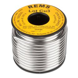 "Soft solder ""REMS Lot Cu 3"" - DIN EN 29453-230 to 250° C - 250g"