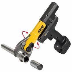 REMS Mini-Press ACC Basic-Pack - Antriebsgerät inkl. Zubehör - max. Pressverbindung Ø 40 mm