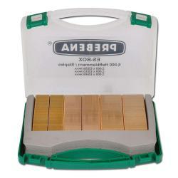 Heftklammern - Type ES - 6000 Stk. - Handwerker-Koffer