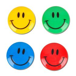 "Magnet Set - Ø 40 mm - 4 sztuki - ""Smile"""