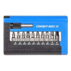"""Restposten - Combit Box 11 """"Industrie Schlitz"""" ph/pz mit Schlitz-Bit"""