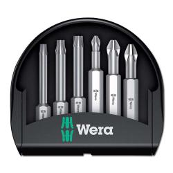 Bit-Sortiment, Bits Mini-Check PH/PZ/TORX  TX50 - zähhart - Wera