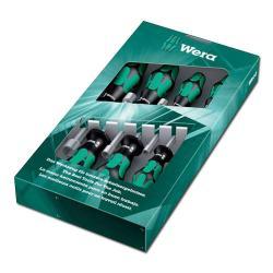 Steckschlüssel-Schraubendreher - Satz 7 teilig -  SW 5-13mm Wera