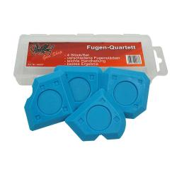 Fugenglätter - joint Quartet - 4pcs. - For joints from 5 to 8 mm