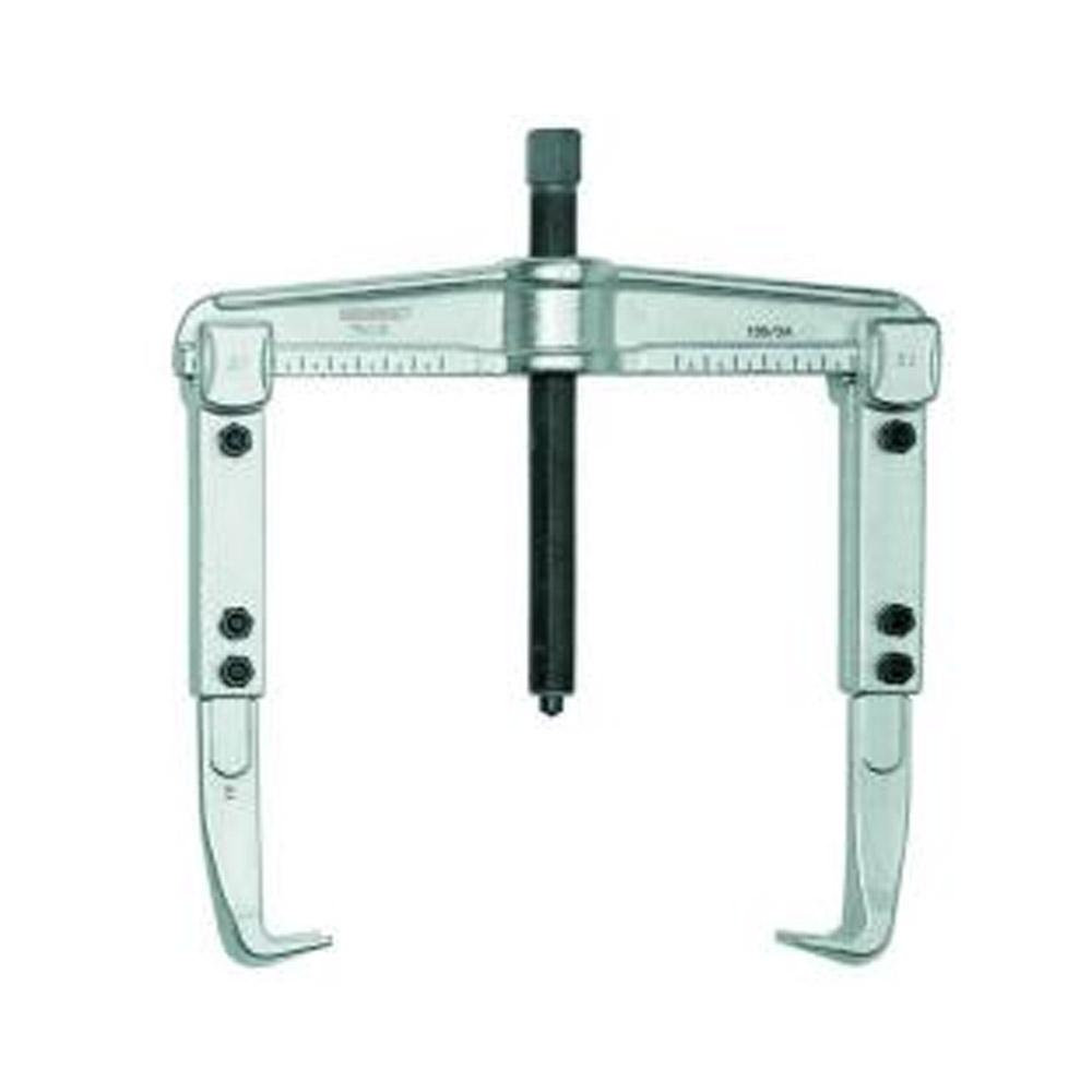 Universal-Abzieher - 2-armig, verlängerte Haken - Spannweite (außen) 90 bis 520 mm