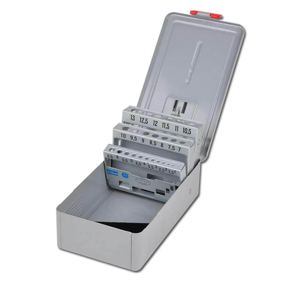 Metallkassette - für bis zu 50 Bohrer Leerkassette