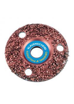 Super Claw Disc - Philipsen - tätbefolkad - Disc-Ø 115 till 150 mm - Grit 30