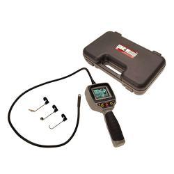 Endoskop-Farbkamera - mit TFT-Monitor - Kamerakopf mit LED