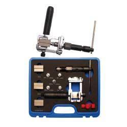 """Hydraulisches Bördelgerät - 4.75 mm (3/16""""), 5,00 mm, 6,00 mm - geeignet für Stahl,- Aluminium-, Messing,- und Kupferleitung"""