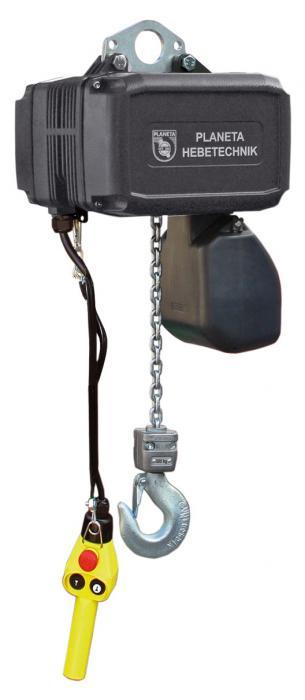 Elektrokettenzug - Hublänge 3 m - Tragfähigkeit bis 5t  - Modell GCH