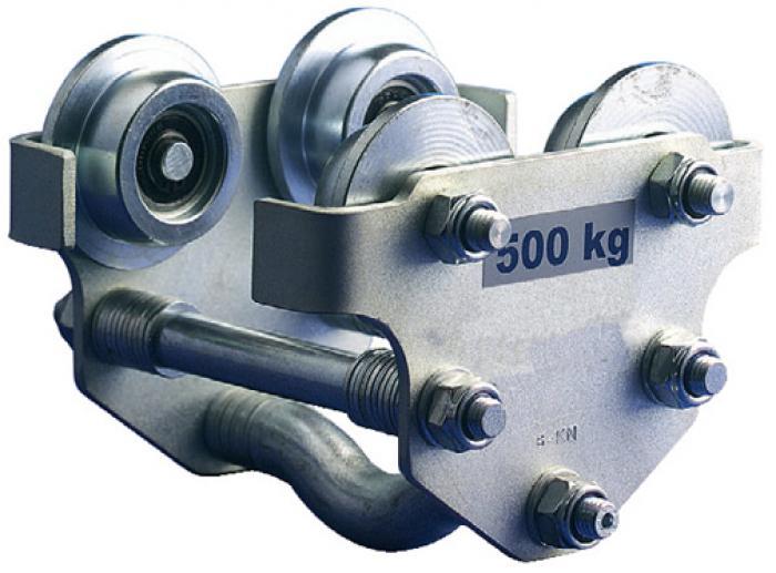 Handlaufkatze bis 8 t - für Träger bis 305 mm - Modell HD3N-H-VZ