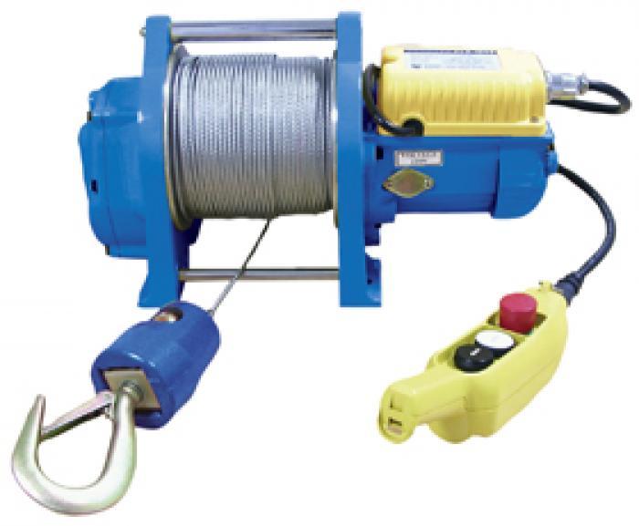 """Elektrisk vinsch """"PLA-B"""" - kompakt - upp till 300 kg - upp till 29 m lyfthöjd"""