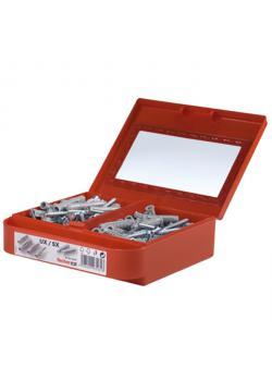Montagebox UX/SX-S - vorsortiert - Universaldübel