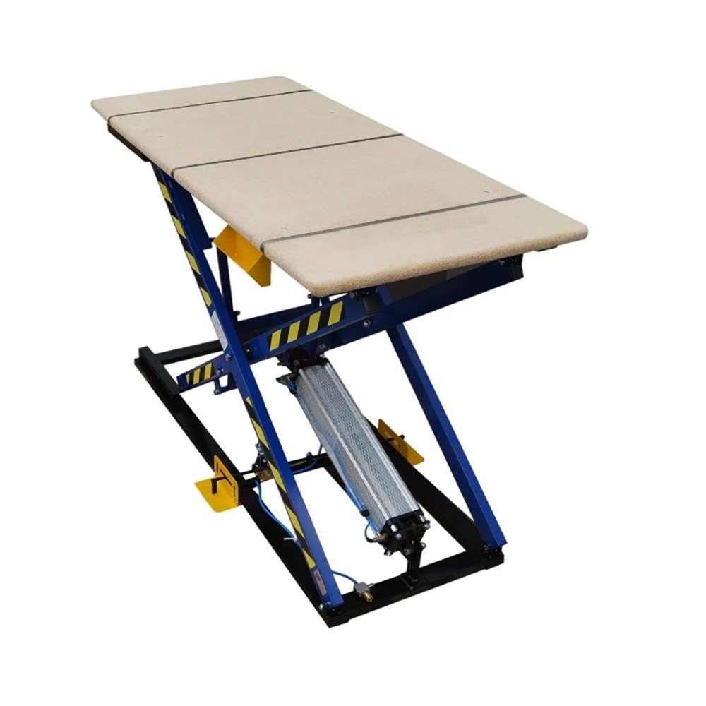 Pad lifting table