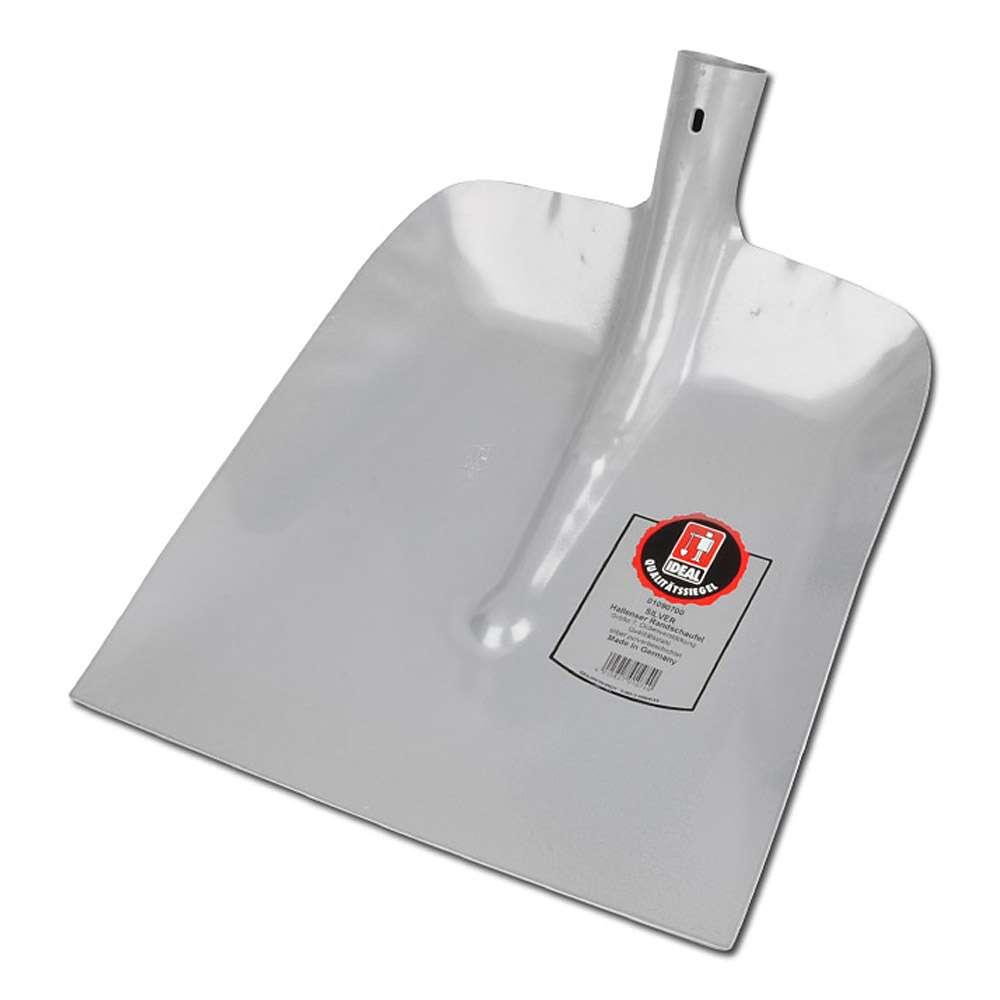 Hallenser Randschaufel - Stahlschutzkantemit - mit Düllenverstärkung