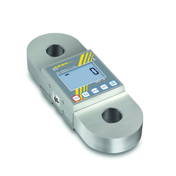 Kran-Waage - max. Wägebereich 600 bis 10000 kg - für Zugkraftmessung geeignet