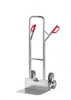 Aluminium stairclimber - to 200 kg - three-arm wheel star - wide blade