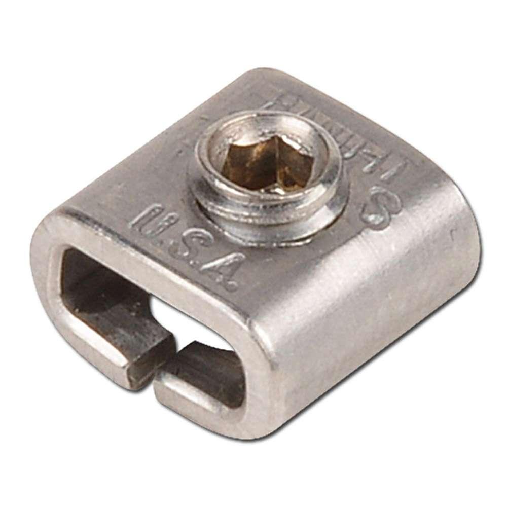 Band-It-Schraubschlaufen 201 - Breite 6,4 bis 19,1 mm - VE 25 oder 50 Stück - Preis per VE oder Stück
