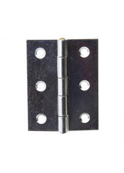 Gångjärn - DIN 7954 B - valsat - halvbrett - förzinkat